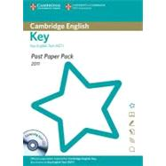 Past Paper Pack for Cambridge English Key 2011 Exam Papers and Teacher's Booklet with Audio CD by Cambridge ESOL, 9781907870750