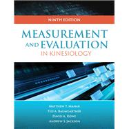 Measurement for Evaluation in Kinesiology by Baumgartner, Ted A., 9781284040753
