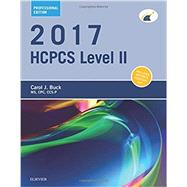 HCPCS 2017 Level II by Buck, Carol J., 9780323430760