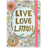 Live, Love, Laugh Coloring Journal by Peter Pauper Press, 9781441320766