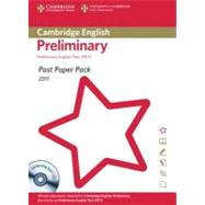 Cambridge English Preliminary 2011 Exam Papers and Teacher's Booklet + Cd by Cambridge ESOL, 9781907870767