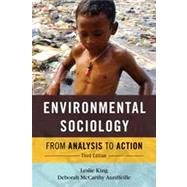 Environmental Sociology by King, Leslie; Auriffeille, Deborah Mccarthy, 9781442220768