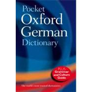 Pocket Oxford German Dictionary by , 9780199560769