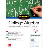 Schaum's Outline of College Algebra, Fifth Edition by Spiegel, Murray; Moyer, Robert, 9781260120769