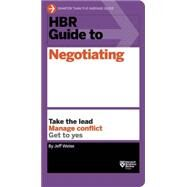Hbr Guide to Negotiating by Weiss, Jeff, 9781633690769