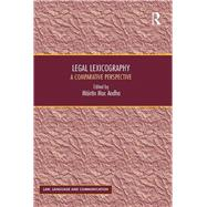 Legal Lexicography: A Comparative Perspective by Aodha,Mßirtfn Mac, 9781138700772