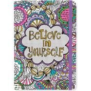 Believe in Yourself Coloring Journal by Peter Pauper Press, 9781441320773