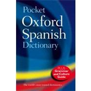 Pocket Oxford Spanish Dictionary by , 9780199560776