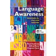 Language Awareness Readings for College Writers by Eschholz, Paul; Rosa, Alfred; Clark, Virginia, 9781457610783