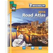 Michelin Road Atlas 2016 North America by Michelin North America, Inc., 9782067200791