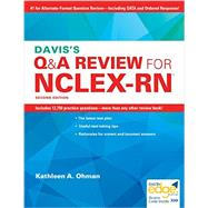 Davis's Q&A Review for NCLEX-RN by Ohman, Kathleen A., R.N., 9780803640795