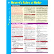 Robert's Rules of Order SparkCharts by Unknown, 9781411470798