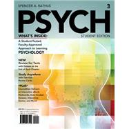 PSYCH (with Psychology CourseMate and eBook Printed Access Card) by Rathus, 9781133960805