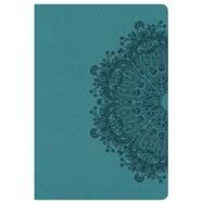 HCSB Compact Ultrathin Bible, Teal LeatherTouch by Holman Bible Staff, 9781433620805