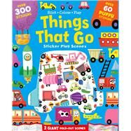 Things That Go Sticker Play Scenes by Igloobooks, 9781499880809