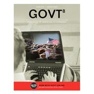 GOVT 8 (with Online, 1 term (6 months) Printed Access Card), 8th by Sidlow/Henschen, 9781305660816