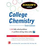 Schaum's Outline of College Chemistry 1,340 Solved Problems + 23 Videos by Rosenberg, Jerome; Epstein, Lawrence; Krieger, Peter, 9780071810821