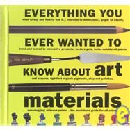 Everything You Ever Wanted to Know About Art Materials 9781581800821U