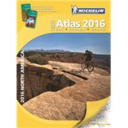 Michelin 2016 Large Format Atlas North America US Canada Mex by Michelin Travel Publications, 9782067200821