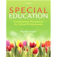 Special Education, Loose-Leaf Version with Video-Enhanced Pearson eText -- Access Card Package by Friend, Marilyn, 9780133400823
