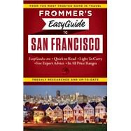 Frommer's EasyGuide to San Francisco by Lenkert, Erika, 9781628870824
