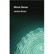 Moral Sense by Bonar, James, 9781138870826