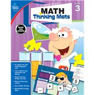 Math Thinking Mats Grade 3 by Carson-Dellosa Publishing, LLC, 9781483830827