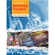 Kleppner's Advertising Procedure by Lane, Ron; King, Karen; Reichert, Tom, 9780136110828
