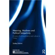 Meaning, Madness and Political Subjectivity: A study of schizophrenia and culture in Turkey by Rahimi; Sadeq, 9781138840829