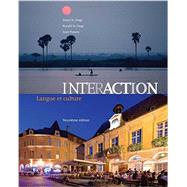 Bundle: Interaction: Langue et culture, 9th + iLrn™ Heinle Learning Center Printed Access Card by St. Onge, 9781285480831