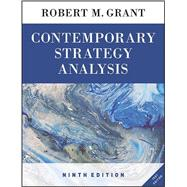 Contemporary Strategy Analysis by Grant, Robert M., 9781119120834