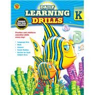 Daily Learning Drills, Grade K by Brighter Child, 9781483800837