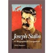 Joseph Stalin: A Biographical Companion by Rappaport, Helen, 9781576070840