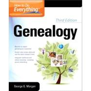 How to Do Everything Genealogy 3/E by Morgan, George G., 9780071780841