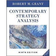 Contemporary Strategy Analysis Text and Cases by Grant, Robert M., 9781119120841