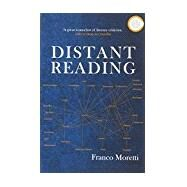 Distant Reading by MORETTI, FRANCO, 9781781680841