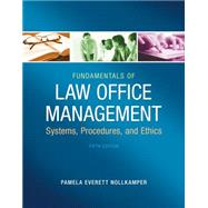 Fundamentals of Law Office Management by Everett-Nollkamper, Pamela, 9781133280842