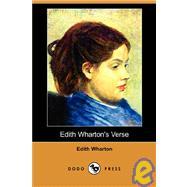 Edith Wharton's Verse by WHARTON EDITH, 9781409900849