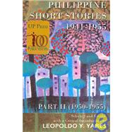 Phillippine Short Stories (1941-1955) by Yakes, Leopaldo Y., 9789715420853