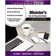 Zondervan Minister's Tax and Financial Guide 2016 by Busby, Dan; Martin, Michael; Van Drunen, John, 9780310520856