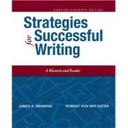 Strategies for Successful Writing, Concise Edition Plus MyWritingLab with Pearson eText -- Access Card Package by Reinking, James A.; von der Osten, Robert A., 9780134150857