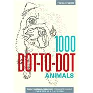 1000 Dot-to-Dot: Animals by Pavitte, Thomas, 9781626860858