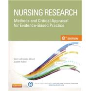 Nursing Research: Methods and Critical Appraisal for Evidence-based Practice by Lobiondo-Wood, Geri, Ph.D., RN, 9780323100861