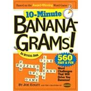 10-Minute Bananagrams!: An Official Book by EDLEY JOE, 9780761160861