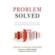 Problem Solved by Einhorn, Cheryl Strauss; Blair, Tony, 9781632650863