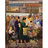 A People and a Nation, Volume II: Since 1865, Brief Edition by Norton, Mary Beth; Kamensky, Jane; Sheriff, Carol; Blight, David W.; Chudacoff, Howard, 9781285430867