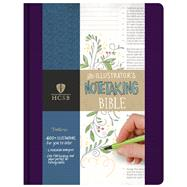 HCSB Illustrator's Notetaking Bible, Purple Linen by Holman Bible Staff, 9781433620867