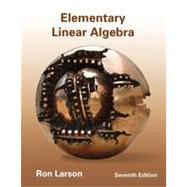 Elementary Linear Algebra by Larson, Ron, 9781133110873