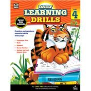 Daily Learning Drills, Grade 4 by Brighter Child, 9781483800875