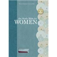 The Study Bible for Women, Sky Blue/Deep Red LeatherTouch by Patterson, Dorothy Kelley; Kelley, Rhonda; Holman Bible Staff, 9781586400880